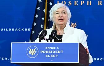 Janet Yellen trở thành nữ Bộ trưởng Tài chính đầu tiên của Mỹ