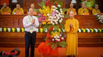 Lãnh đạo TPHCM thăm, chúc tết Ban Trị sự Giáo hội Phật giáo Việt Nam TPHCM