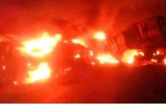 Cháy xe khách ở Cameroon, ít nhất 53 người chết không thể nhận dạng