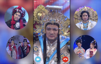 Táo quân chầu Ngọc Hoàng online vì dịch bệnh