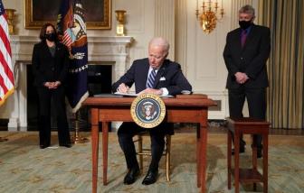 Tổng thống Joe Biden thực hiện các biện pháp cứng rắn chống biến đổi khí hậu