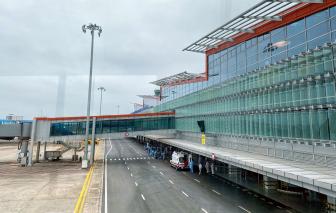 Tạm đóng cửa, cách ly 280 nhân viên sân bay Vân Đồn