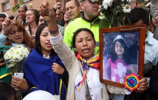 """""""Không nơi nào an toàn"""" cho phụ nữ trên đất nước Colombia"""