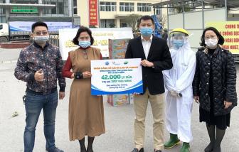 Sữa Cô Gái Hà Lan và Yomost trao tặng nguồn dinh dưỡng yêu thương đến tâm dịch Quảng Ninh