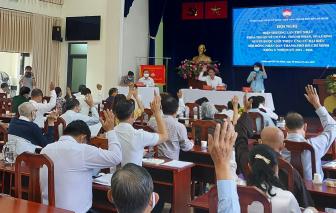 Hội nghị hiệp thương giới thiệu 160 người ứng cử đại biểu HĐND TPHCM khóa X