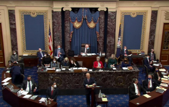 Thượng viện tuyên bố phiên tòa luận tội ông Trump là hợp hiến