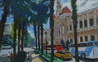 Sài Gòn trong tâm tưởng của một họa sĩ gốc Bắc