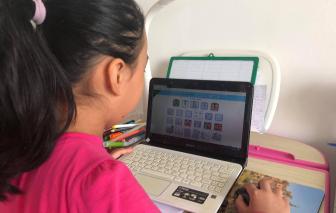Học sinh lớp 1 ở TPHCM sẽ học gì qua Internet?
