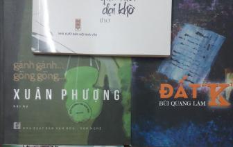 Xuân Phượng, Cao Xuân Sơn và Bùi Quang Lâm nhận giải thưởng Hội Nhà văn TPHCM 2020