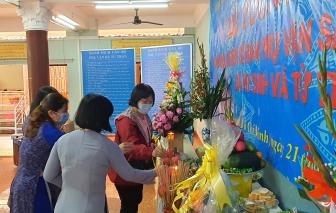 Dâng hương tưởng niệm cán bộ, chiến sĩ Ban Phụ vận Sài Gòn - Gia Định