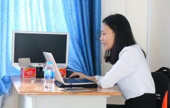 """Sau tết, bắt nhịp dạy và học online: Nghĩ """"chiêu"""" để thu hút trò"""