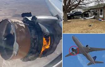 Mỹ yêu cầu Boeing điều tra việc động cơ máy bay 777 bốc cháy