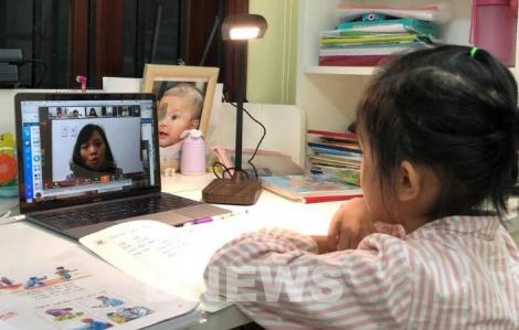 Hải Phòng dừng dạy học trực tuyến cho học sinh lớp 1 và lớp 2 vì không hiệu quả
