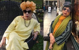 """Bà mẹ 65 tuổi phục trang như siêu sao và sống """"chất như nước cất"""""""