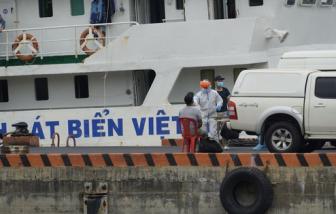 Bà Rịa - Vũng Tàu phát hiện 5 thuyền viên tàu hàng từ Indonesia dương tính với COVID-19