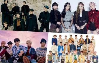 Các nhóm nhạc K-pop oanh tạc trên bảng xếp hạng âm nhạc quốc tế