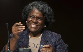 Bà Linda Thomas-Greenfield trở thành đại sứ Mỹ tại Liên Hợp Quốc