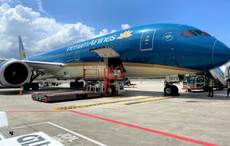 Vietnam Airlines huy động tàu bay thân rộng vận chuyển vắc-xin trong nước