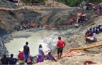 Sập mỏ vàng tại Indonesia làm ít nhất 5 người thiệt mạng, hàng chục người khác chưa rõ sống chết