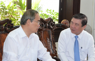 Lãnh đạo TPHCM thăm, chúc mừng Ngày Thầy thuốc Việt Nam