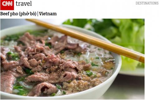Điều gì khiến Phở bò Việt Nam thành một trong 20 món xúp ngon nhất hành tinh?