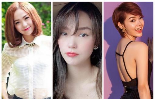 """Những kiểu tóc của Minh Hằng trước khi được báo Trung Quốc gọi là """"nữ thần"""""""