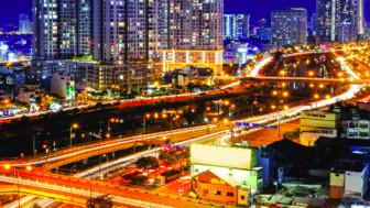 Hệ thống chiếu sáng thúc đẩy phát triển kinh tế ban đêm