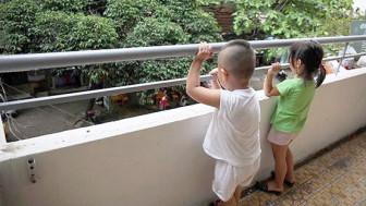 Những lưu ý đảm bảo an toàn cho trẻ khi sống ở chung cư