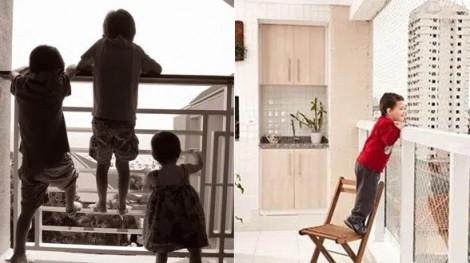 Những lưu ý đảm bảo an toàn cho trẻ khi sống ở chung cư có ban công