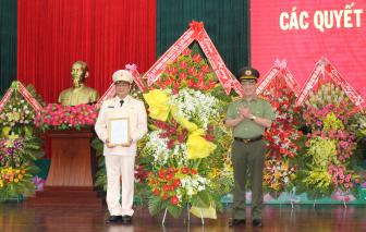 Bộ Công an công bố tân Giám đốc Công an tỉnh Đắk Lắk