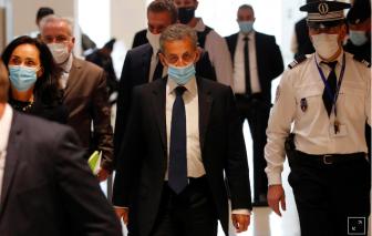 Cựu tổng thống Pháp Sarkozy bị kết tội tham nhũng, nhận án 3 năm tù