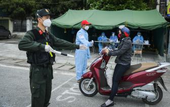 Hải Dương: Nhiều trường hợp vi phạm phòng, chống dịch bị xử lý trước giờ ngưng giãn cách xã hội