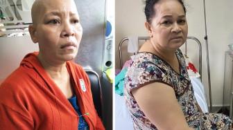Xin giúp hai người phụ nữ có tiền trị bệnh