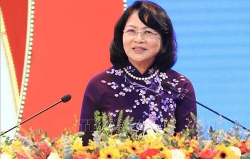 Phó chủ tịch nước Đặng Thị Ngọc Thịnh cảm ơn Chính phủ khóa XIV