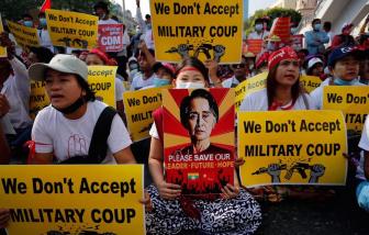 Biểu tình tiếp diễn ở Myanmar khi đã có ít nhất 21 người chết