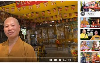 Thầy chùa ăn thịt chó, chửi bậy, đánh nhau bị phát hiện làm giả giấy tờ