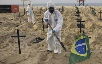 WHO: Dịch bệnh ở Brazil rất đáng lo ngại