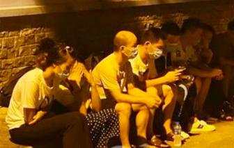 Công an TPHCM thông tin vụ phát hiện 40 người Trung Quốc nhập cảnh trái phép