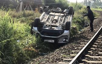 Quảng Ngãi: Tai nạn đường sắt, cháu bé 1 tuổi chết thảm, 2 người bị thương