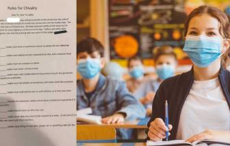 Trường học ở Mỹ bị chỉ trích vì buộc nữ sinh phải phục vụ nam sinh trong lớp