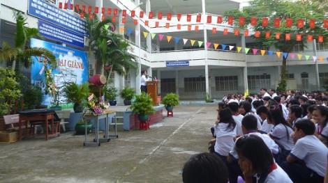 Trường THCS Trần Danh Ninh sử dụng tài chính chi không đúng nguồn, mua sắm chưa xin ý kiến quận