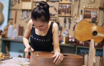Chuyện cô gái trẻ và những cây đàn handmade giá nghìn đô