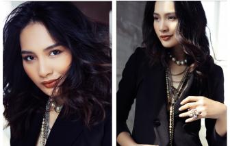Hoa hậu Hương Giang khoe sắc vóc hoàn hảo, tiết lộ bí quyết giữ gìn hạnh phúc