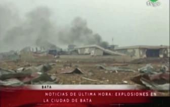 Nổ căn cứ quân sự ở Guinea Xích Đạo, hơn 600 người thương vong