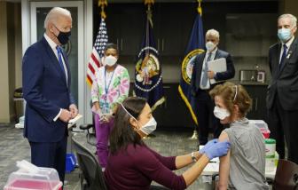 Mỹ: Những người tiêm chủng đầy đủ được tụ tập không cần đeo khẩu trang