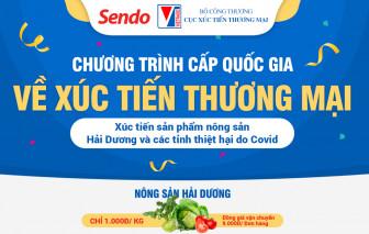 Sendo hỗ trợ tiêu thụ nông sản Hải Dương