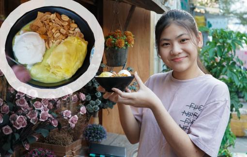 Thưởng thức kem bơ Đà Lạt giữa Sài Gòn