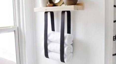 Lưu trữ, bảo quản khăn tắm thông minh cho phòng tắm