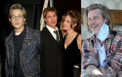 Đến Brad Pitt cũng trở thành ông già ở tuổi gần 60