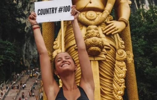 """Cô gái một mình đi 196 quốc gia: """"Không có gì cản trở được phụ nữ chinh phục giấc mơ"""""""